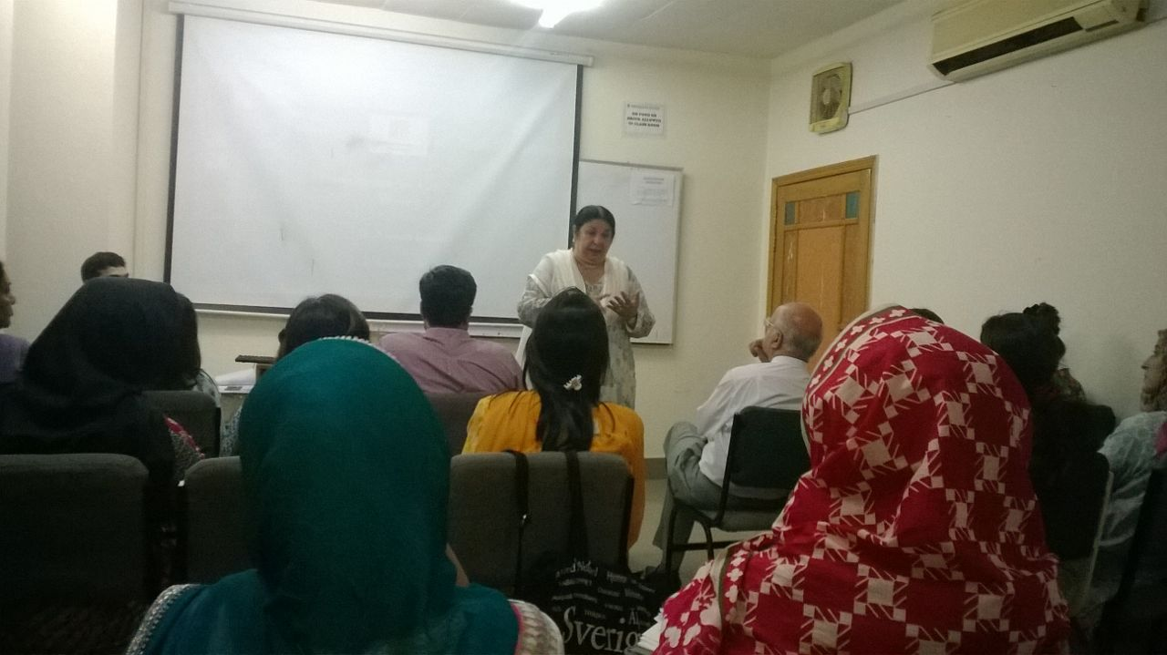 Alzheimer's Lecture At Seeta Majeed School of Arts & Social Sciences