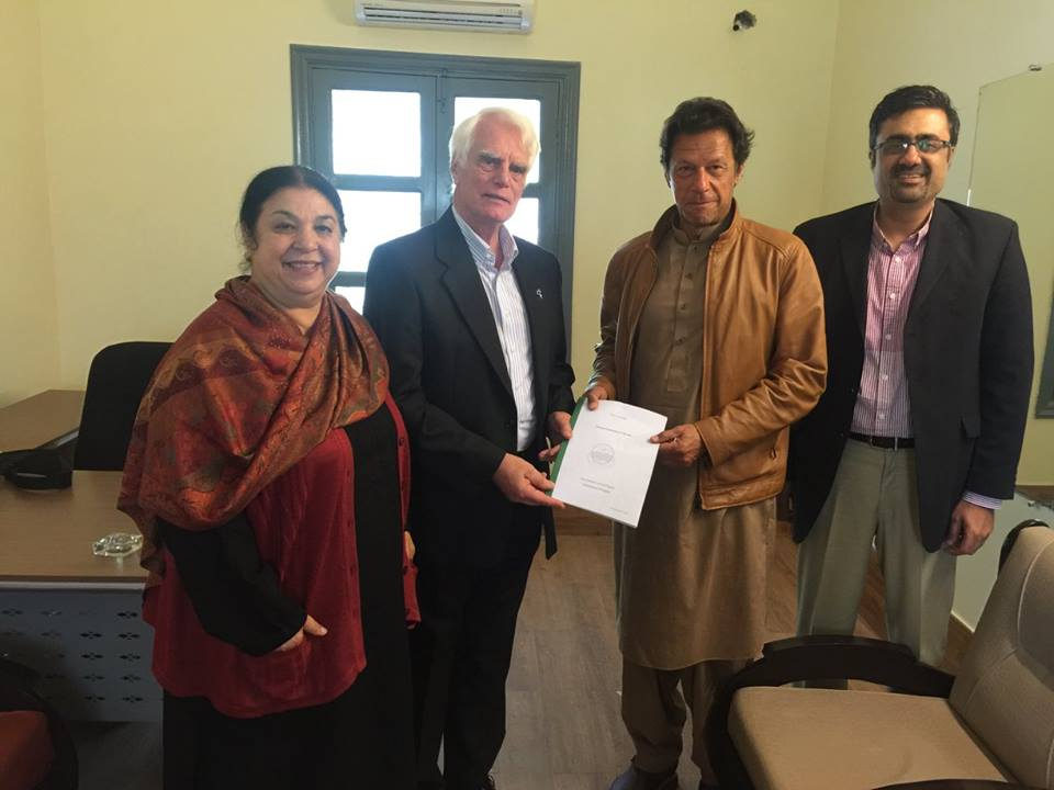 Alzheimer's Pakistan's Delegation's Meeting with Imran Khan